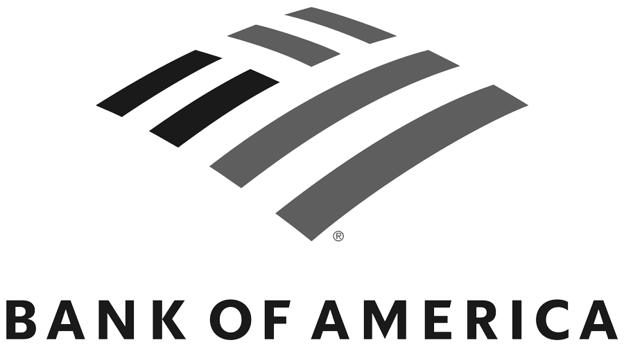 Bank Of America Greyscale Logo