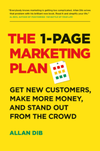MVP.dev reads: The 1-Page Marketing Plan by Allan Dib