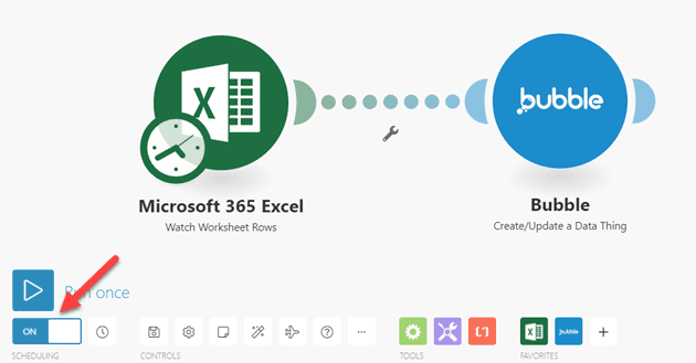 Syncing Microsoft Office 365 Excel and a Bubble.io Database Using Integromat – A Step-By-Step Guide